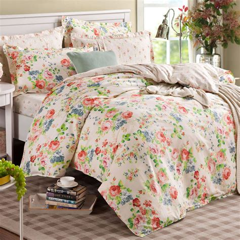 Floral Bedding by 2014 Cotton King Size Bedding Sets Bedclothes Duvet