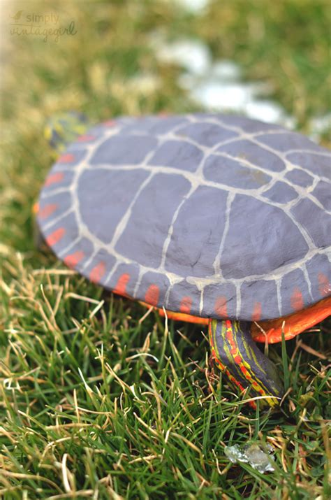 Handmade Turtle - simply vintagegirl 187 if you see a turtle on a fencepost