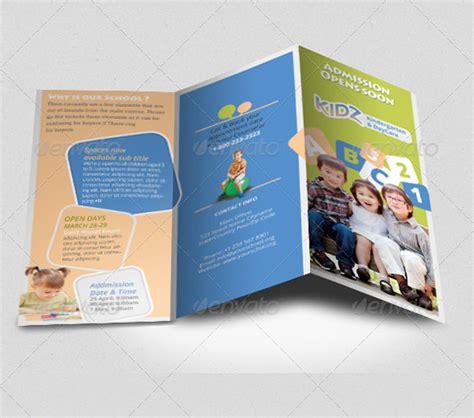 templates brochure kindergarten 22 kindergarten brochure templates free psd eps ai