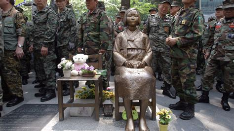 korean comfort women statue why did this statue of a little korean girl spark outrage