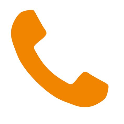 fileorange phone font awesomesvg wikimedia commons