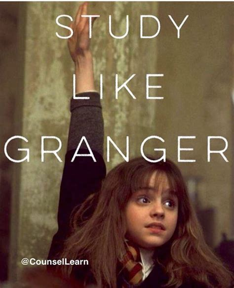Granger College by Studying Like Hermione Granger