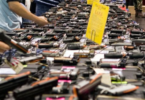 houston show travis county commissioners decline to renew gun show contract update kut
