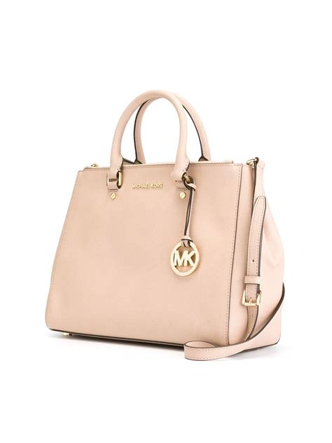 Michael Kors Sutton Canvas Tote by Lyst Michael Michael Kors Sutton Tote In