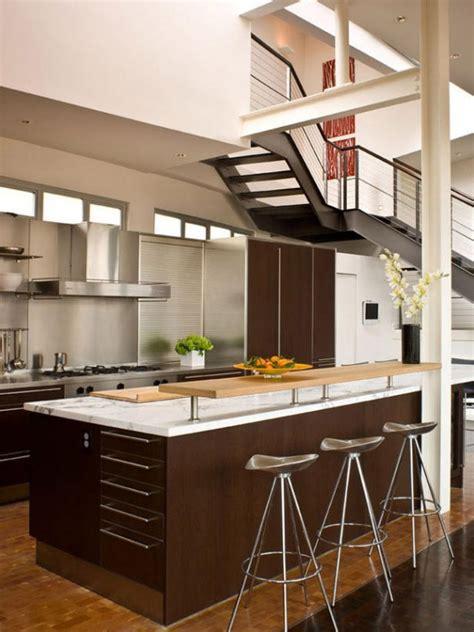 sleek kitchen design sleek contemporary loft small kitchen design 585x780