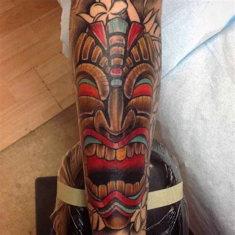 tiki tattoo tiki totem pole www pixshark images