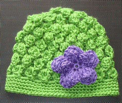 image pattern clustering cluster crochet hat pattern my crochet