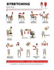 Office Chair Exercises For Back Office Stretches