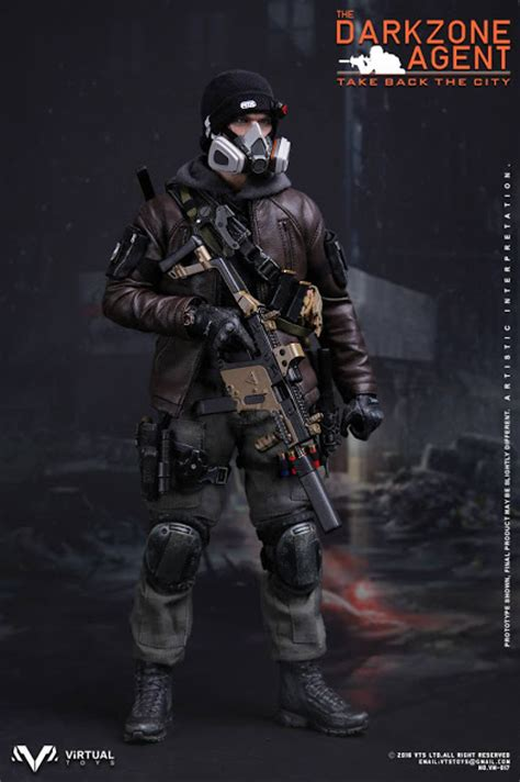 Jaket Army Assasins Creed Recon 1 toyhaven vts toys 1 6th scale the darkzone 12 inch