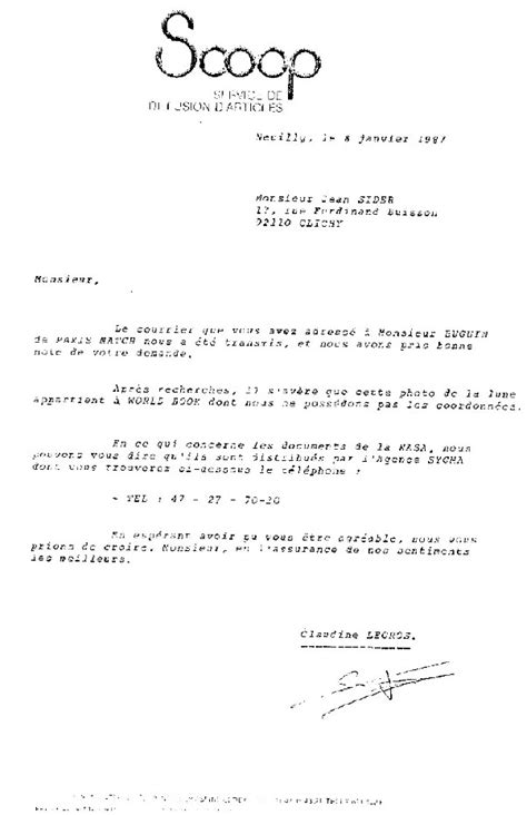 Exemple De Lettre Demande De Révision modele de lettre reponse a une demande d explication