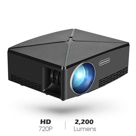 proyektor home theater hd p  black