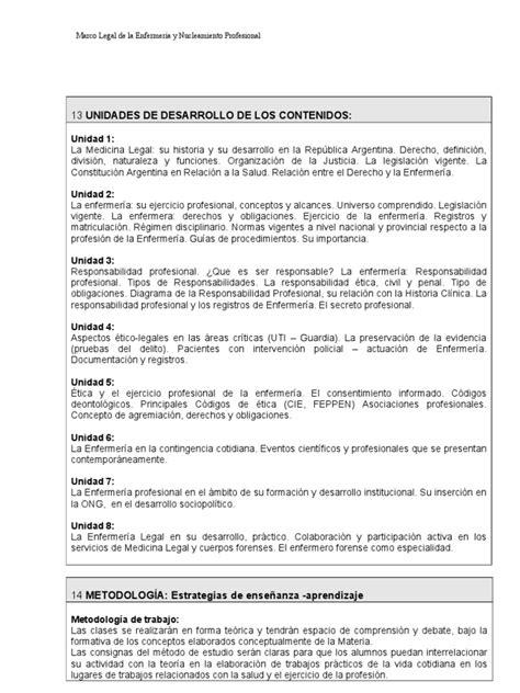 ley 24432 honorarios profesionales argentina marco legal de la enfermeria