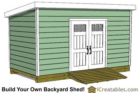 Lean To Storage Shed Plans by 8x14 Lean To Shed Plans Storage Shed Plans Icreatables
