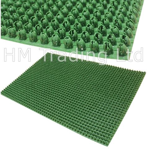 Outdoor Mats Rugs Outdoor Door Mat Plastic Astro Artificial Grass Turf Look Entrance Scraper Ebay