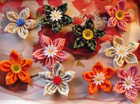 fiori di stoffa tutorial fiori di stoffa su misshobby