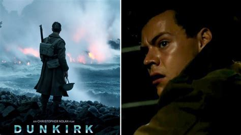 film dunkirk cast list watch harry styles finally makes his acting debut in new