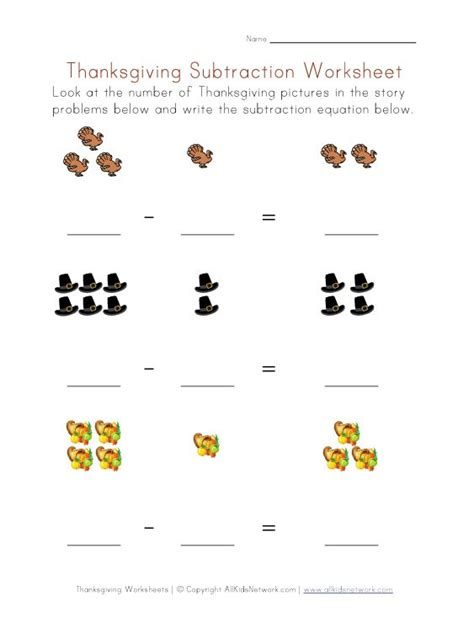 Printable Math Worksheets Thanksgiving | thanksgiving worksheets for preschoolers view and print