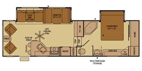 fleetwood fifth wheel floor plans 2008 fleetwood terry 174 305rlds trailer reviews prices