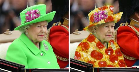 queen s the queen s green screen outfit starts a hilarious