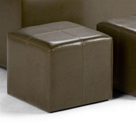 small rectangular storage ottoman amazon com simpli home avalon 3 rectangular storage