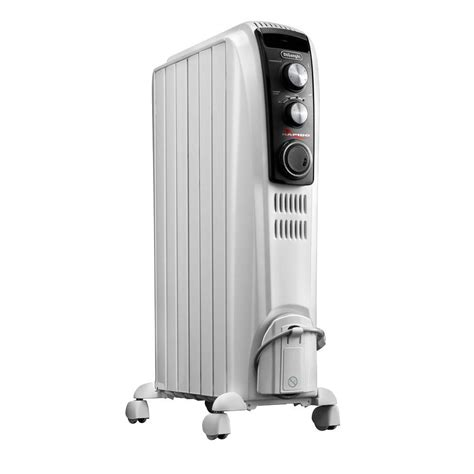 oil filled radiant heater canada delonghi full room oil filled radiant portable heater