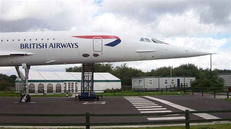 aubry s 1st flight books file concorde at manchester airport viewing park jpg