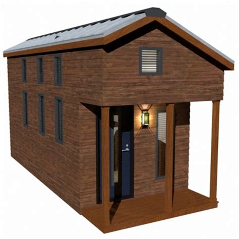 tiny house plans with loft the mcg tiny house with staircase loft photos video and plans