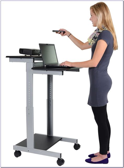stand up computer desk canada desk home design ideas
