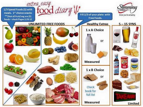 The New Slimming World Plan Extra Easy And Extra Easy Sp