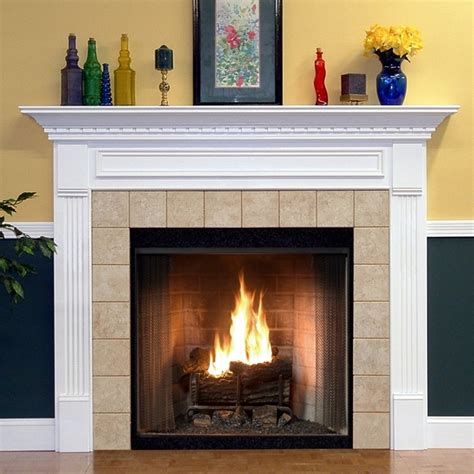 Wood Mantel On Fireplace by Wood Fireplace Mantels Mantel Surround Hillsboro