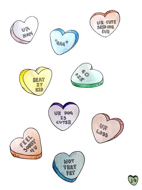 candy heart tattoo hearts inspiration