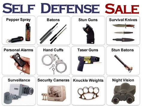 security world self defense products on sale