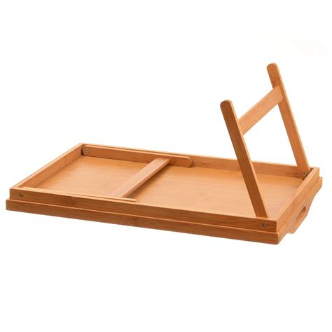 bed tv table tv dinner folding bed tray table breakfast tray bamboo