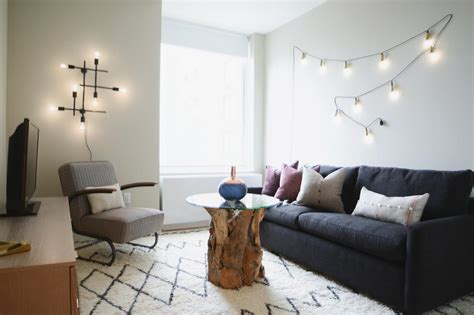 10 ways to fill the space above your sofa 8 ways to use string lights all year hgtv s