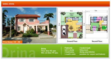 camella homes drina floor plan for sale camella bohol in bool tagbilaran city bohol almost sold out