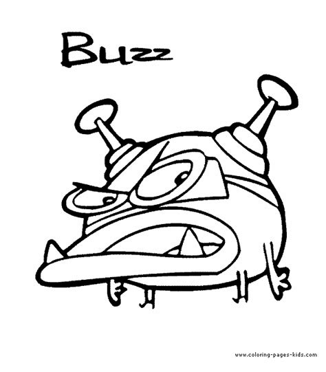 buzz cyberchase coloring page cyberchase color page