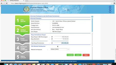 cara buat paspor online tanpa upload cara membuat paspor online padang video cara membuat