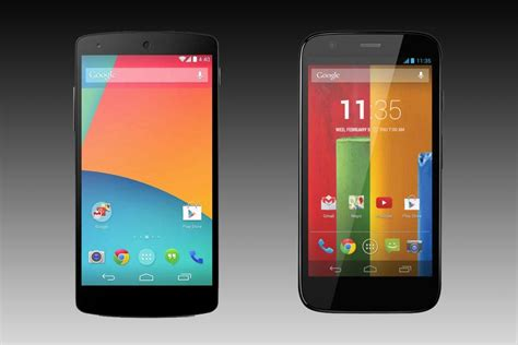 nexus 5 mobile phone deals moto g vs nexus 5 which cheap android phone is the best