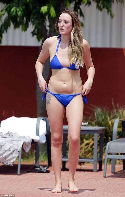 naked backyard pool charlotte crosby jumps naked into cannes swimming pool on