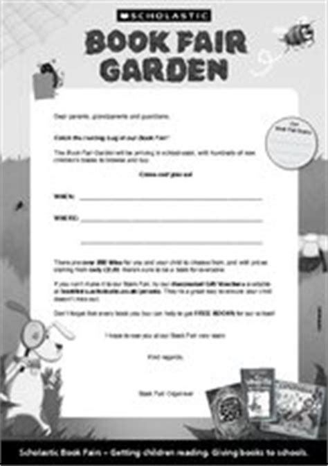 Parent Letter Scholastic Book Club Letter For Parents Scholastic Book Fairs