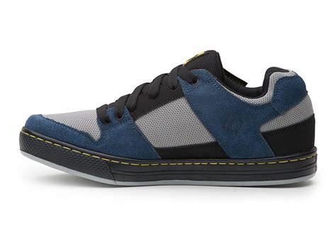 cycling shoes flats five ten freerider flat mtb cycling shoes navy grey ebay
