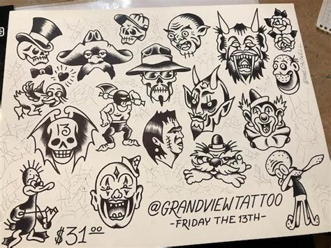Tattoo Shops Near Me Open Early | 10 tattoo shops with friday the 13th flash sheet deals
