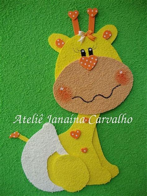 imagenes de jirafas en fomix paso a paso con jeannine jirafa moldes
