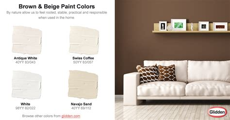 brown beige paint colors