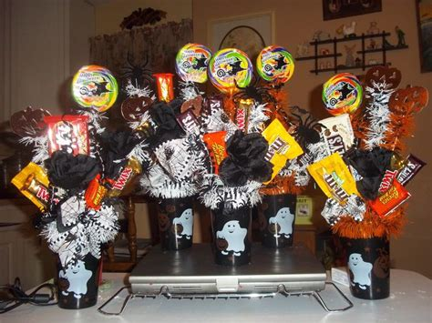 Halloween Themes For Coworkers | halloween candy craft ideas made for coworkers