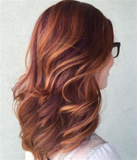 chestnut crush warm brunette base honey caramel highlights 40 fresh trendy ideas for copper hair color