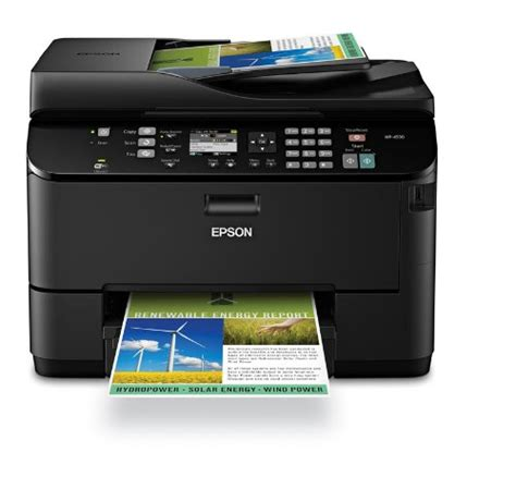 Best Prices Epson Workforce Pro Wp 4530 Color Inkjet Lexmark All In One Color Laser Printer Wireless