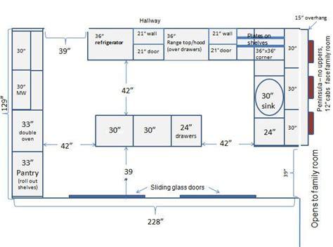 images  kitchen dimensions  pinterest