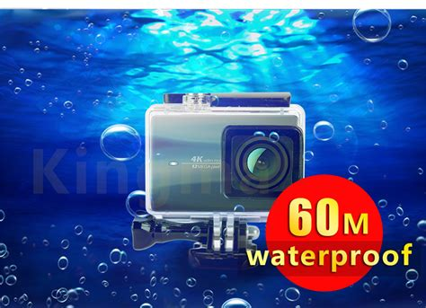 Kingma Waterproof Casing For Xiaomi Yi 2 4k Black kingma underwater waterproof ipx 8 60m for xiaomi yi