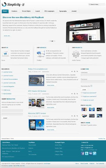 business template joomla free joomla business template template